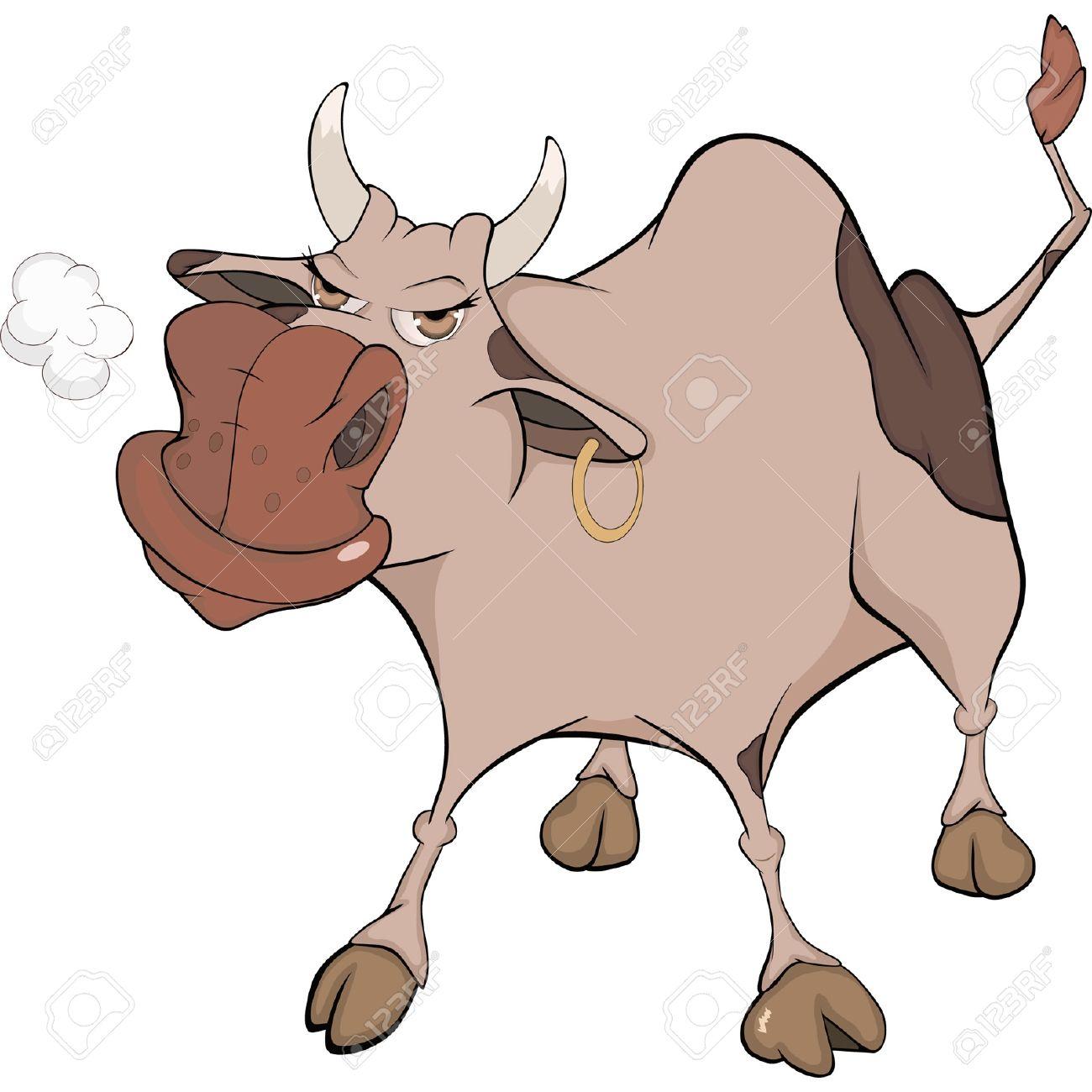 Животное бык с пистолетом или ружьем картинка 3