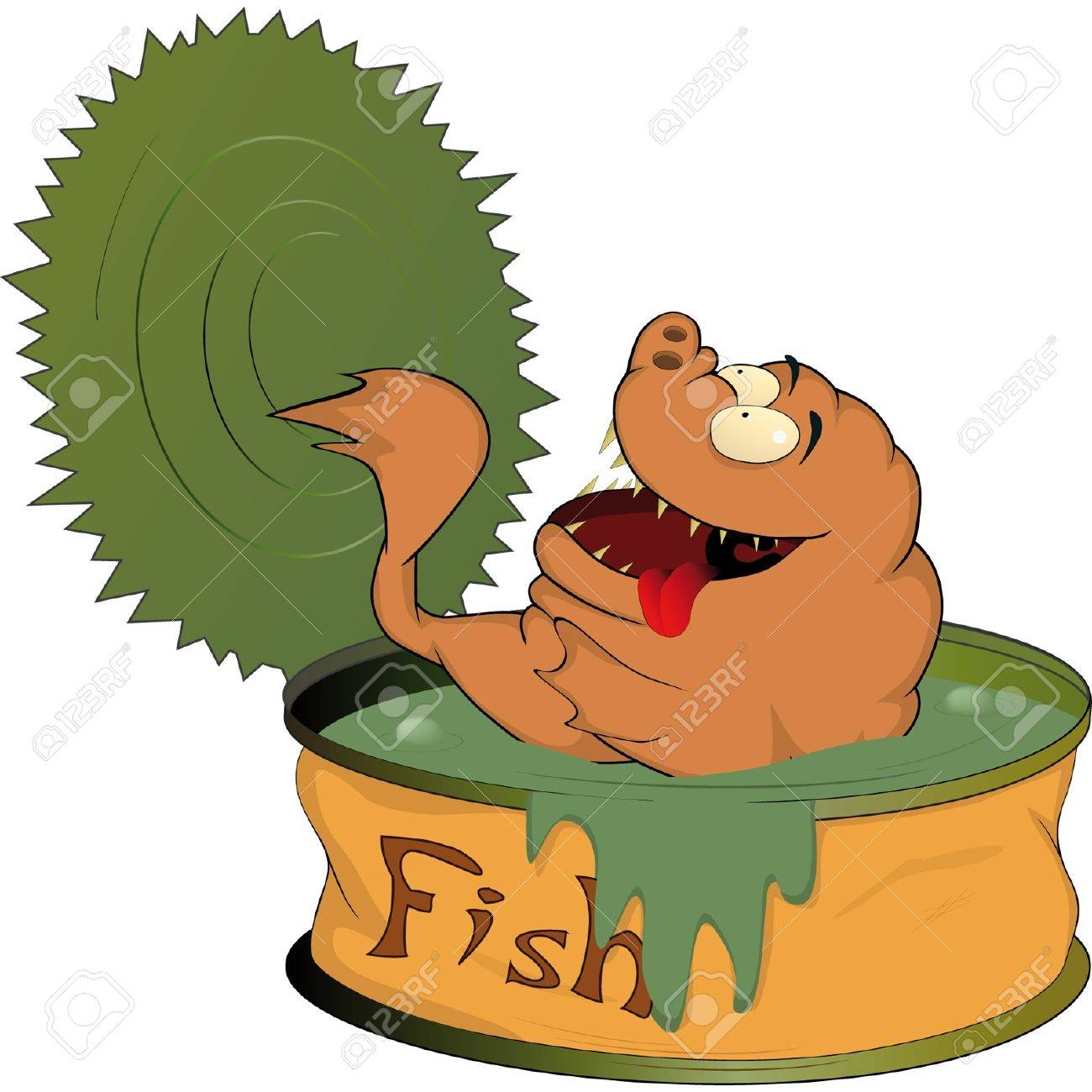 Fish canned food - 12498416