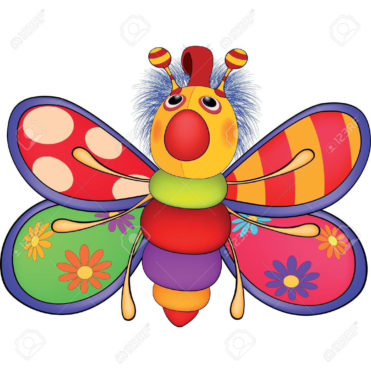 peluche le papillon jouet dessin anim banque dimages 17462102