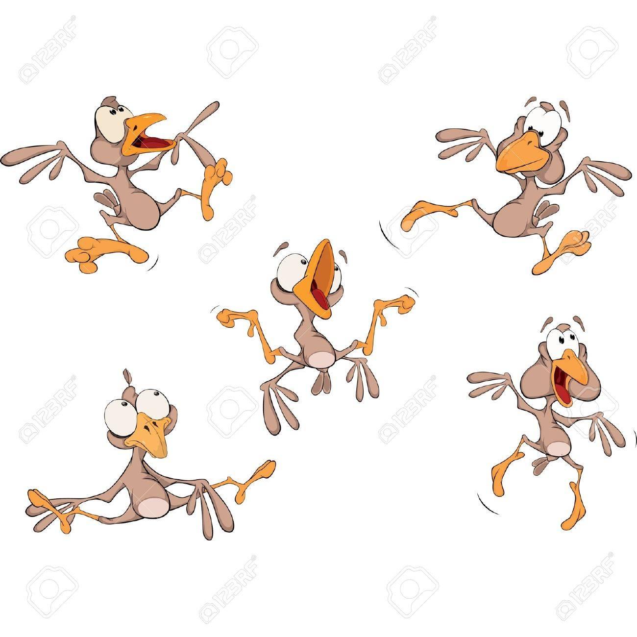 Sparrows. Clip-Art. Cartoon Stock Vector - 18316420