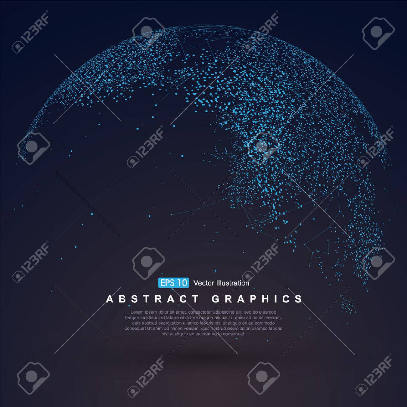 World map point, line, composition, representing the global, Global network connection,international meaning. - 52518604