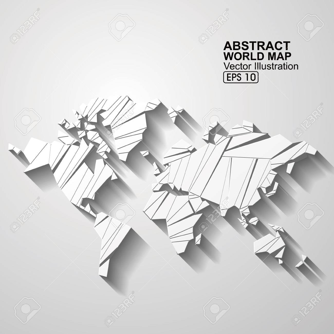 Abstract world map royalty free cliparts vectors and stock abstract world map stock vector 53259000 gumiabroncs Gallery