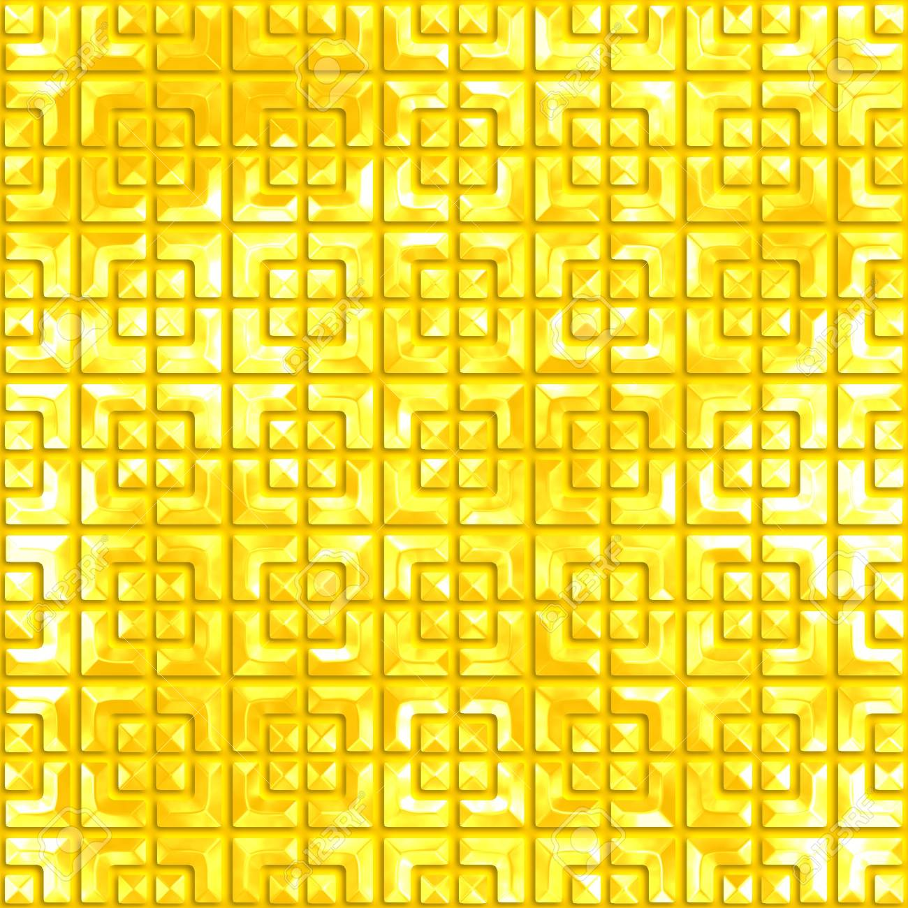 Golden pattern  Seamless background Stock Photo - 20982966