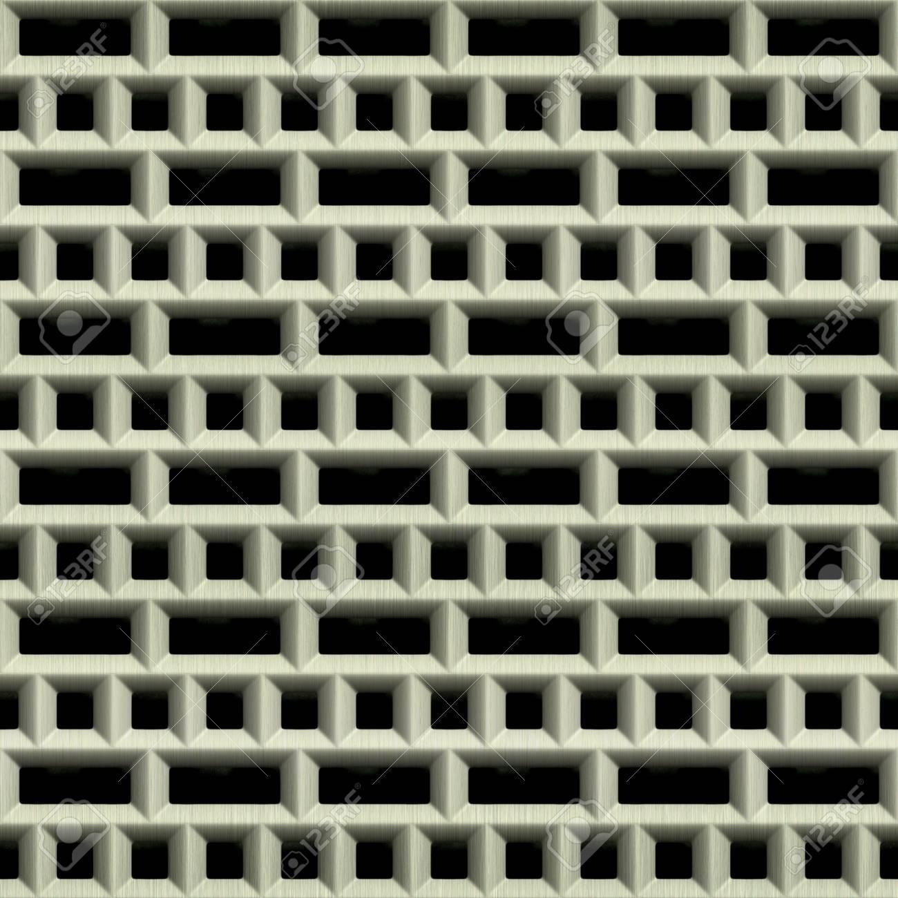 Steel grate. Seamless texture. Stock Photo - 15823468