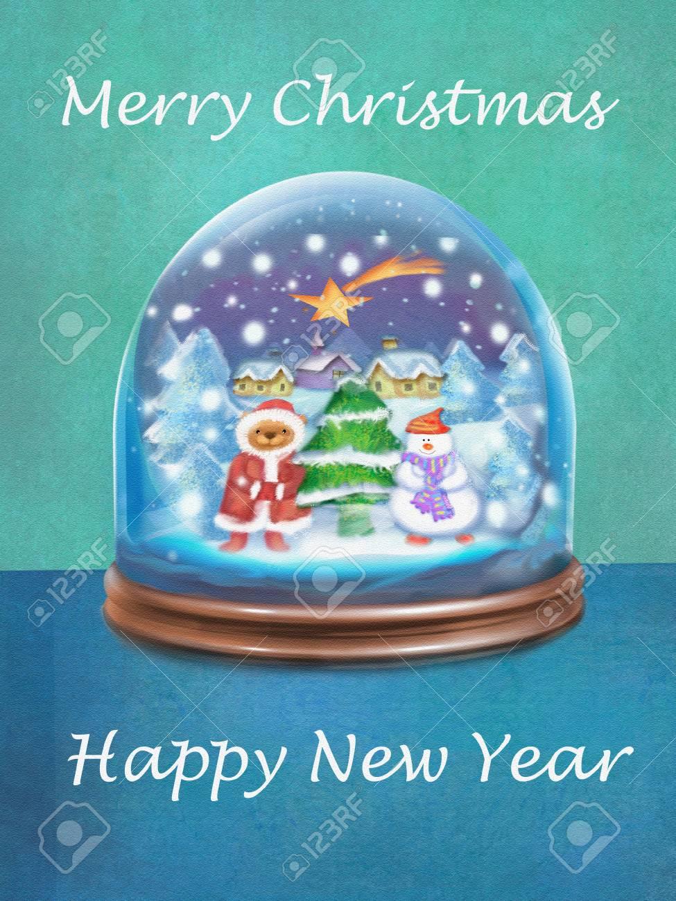 Wünsche Frohe Weihnachten.Stock Photo