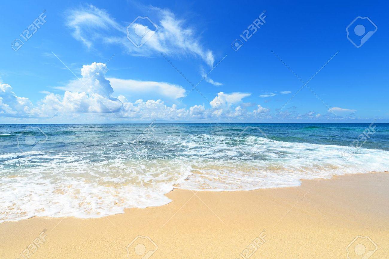 Beautiful Sea Beach Sea Scenery The Beautiful Sea