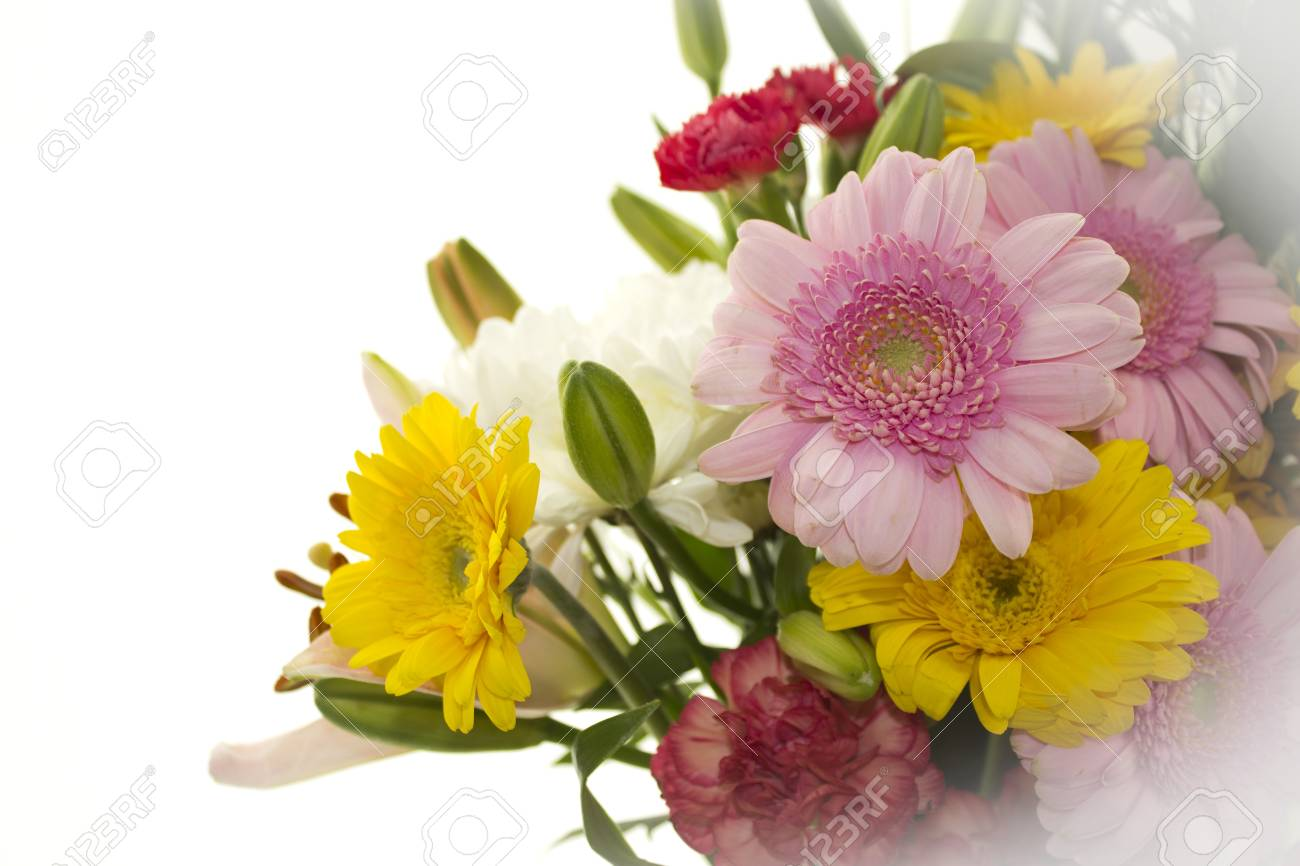 Pretty Bunch Of Flowers Stock Photo Picture And Royalty Free Image
