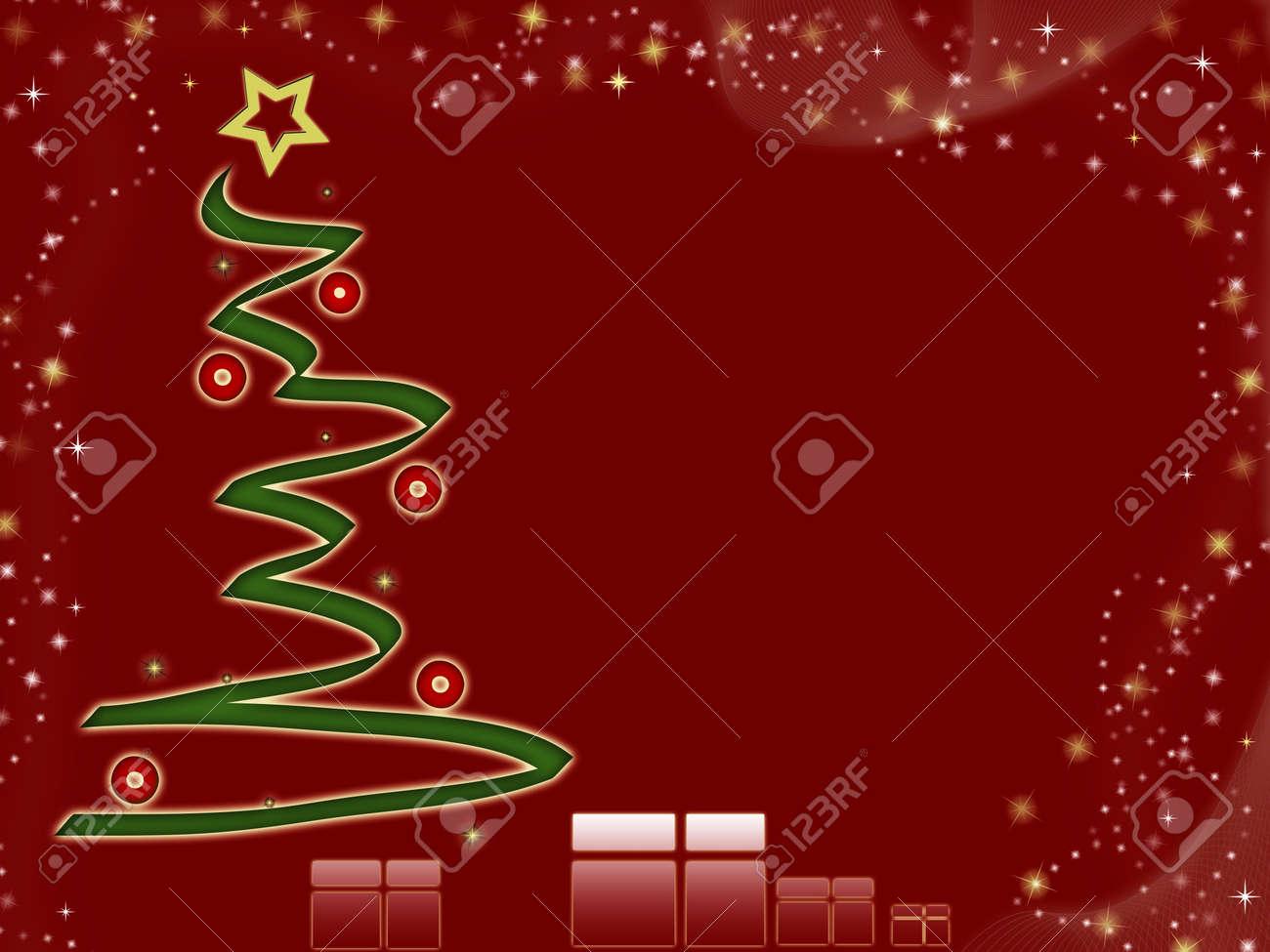 Computer Designed High Resolution Christmas Background