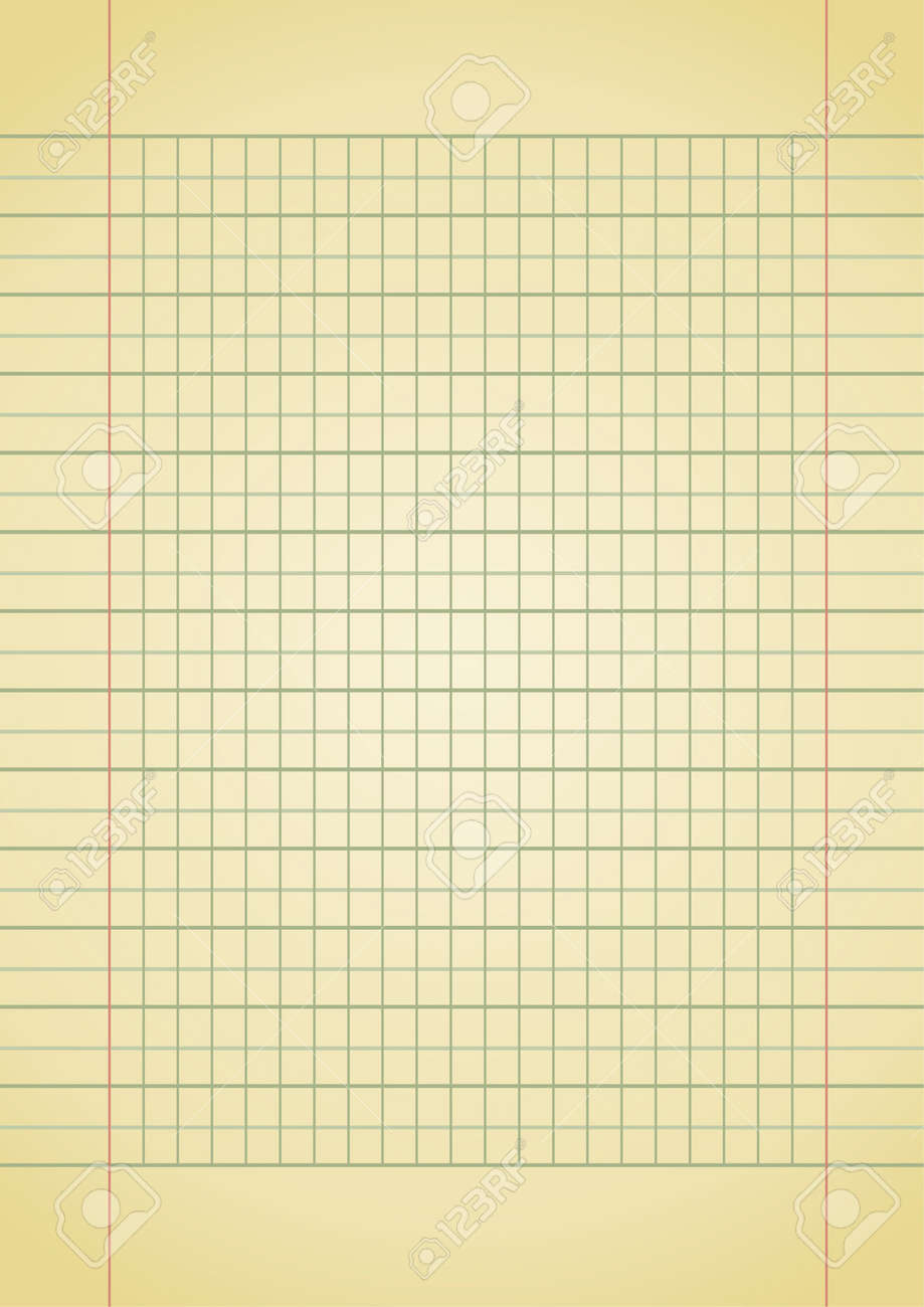 Editable Background Old Yellow Notebook Paper With Space For