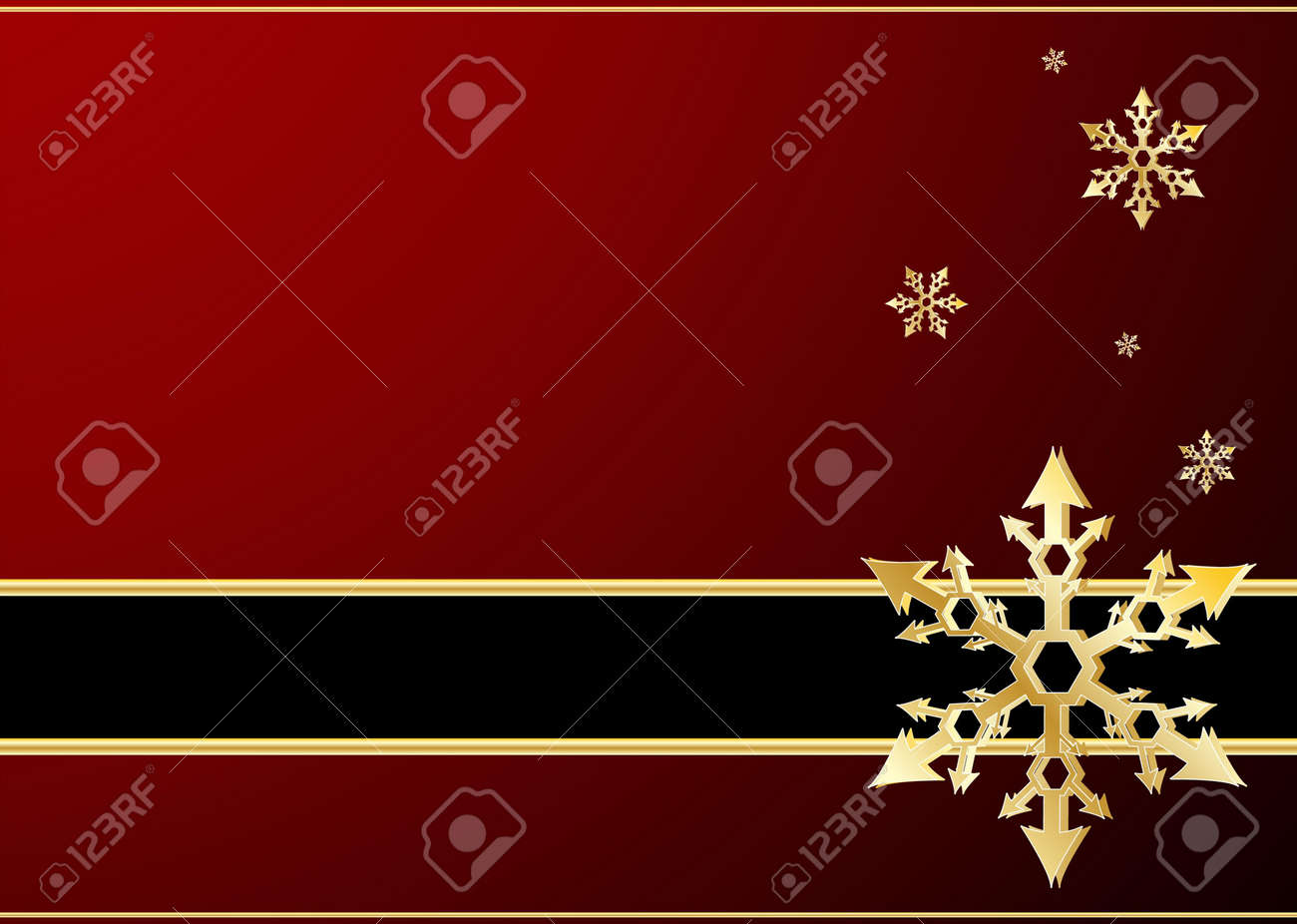 Editable vector winter background with space for your text Stock Vector - 7533694