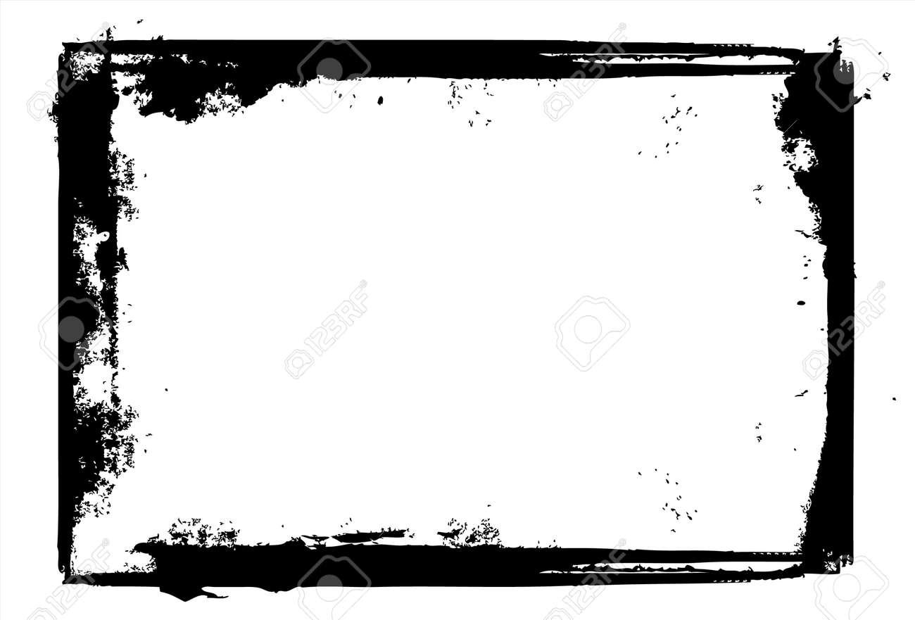 editable vector distressed dark border nice grunge element