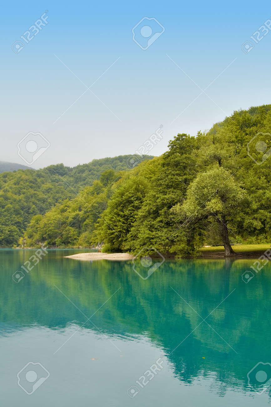 Landscape of a beautiful lake Stock Photo - 11076856