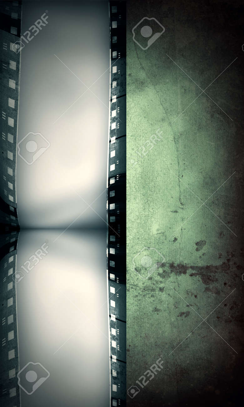 Computer designed highly detailed film frame Stock Photo - 11077086