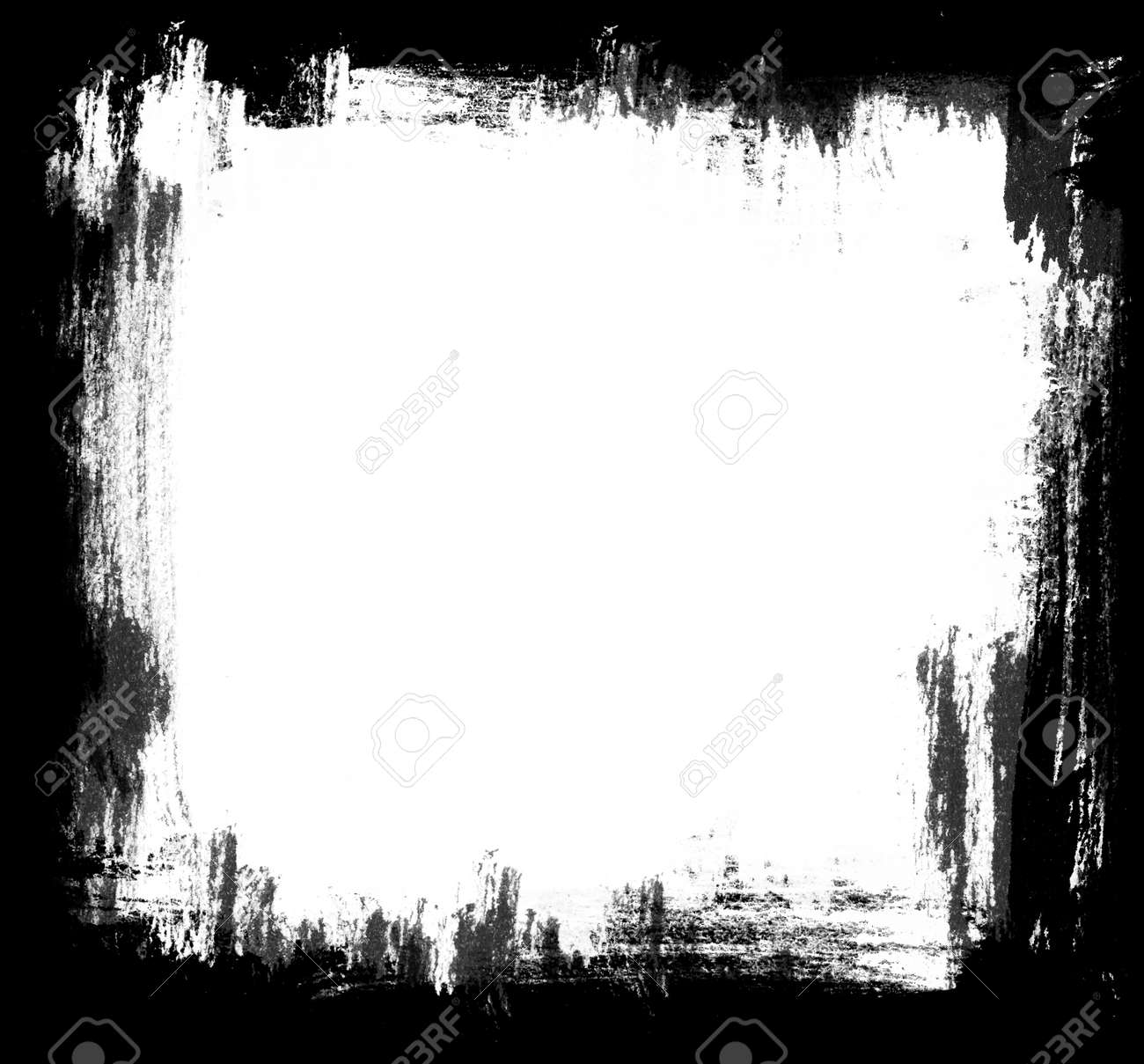 Highly detailed grunge frame  with space for your text or image. Great grunge layer for your projects. Stock Photo - 18398208