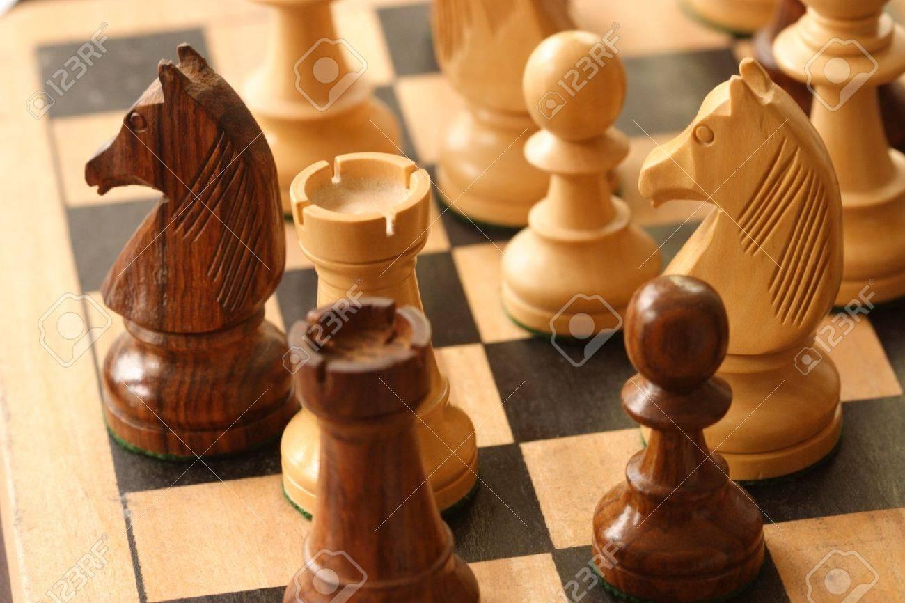 chess game Stock Photo - 9750527
