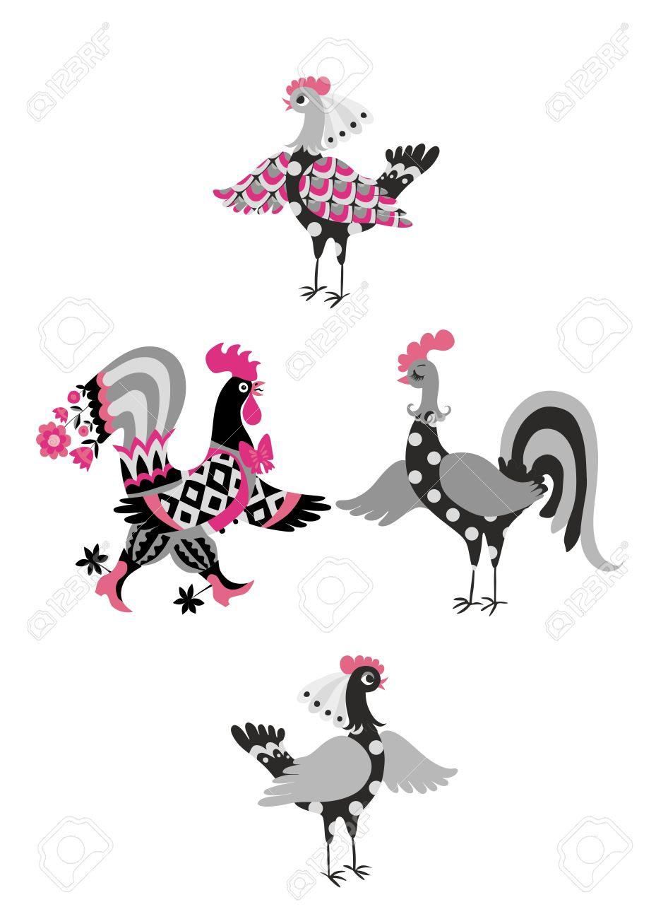 Gallos Bonitos