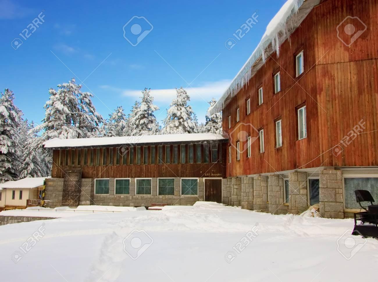 Ski resort in Bulgaria, East Europe Stock Photo - 437617