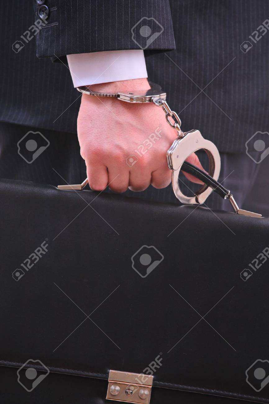 Businessman with a briefcase Stock Photo - 2863583