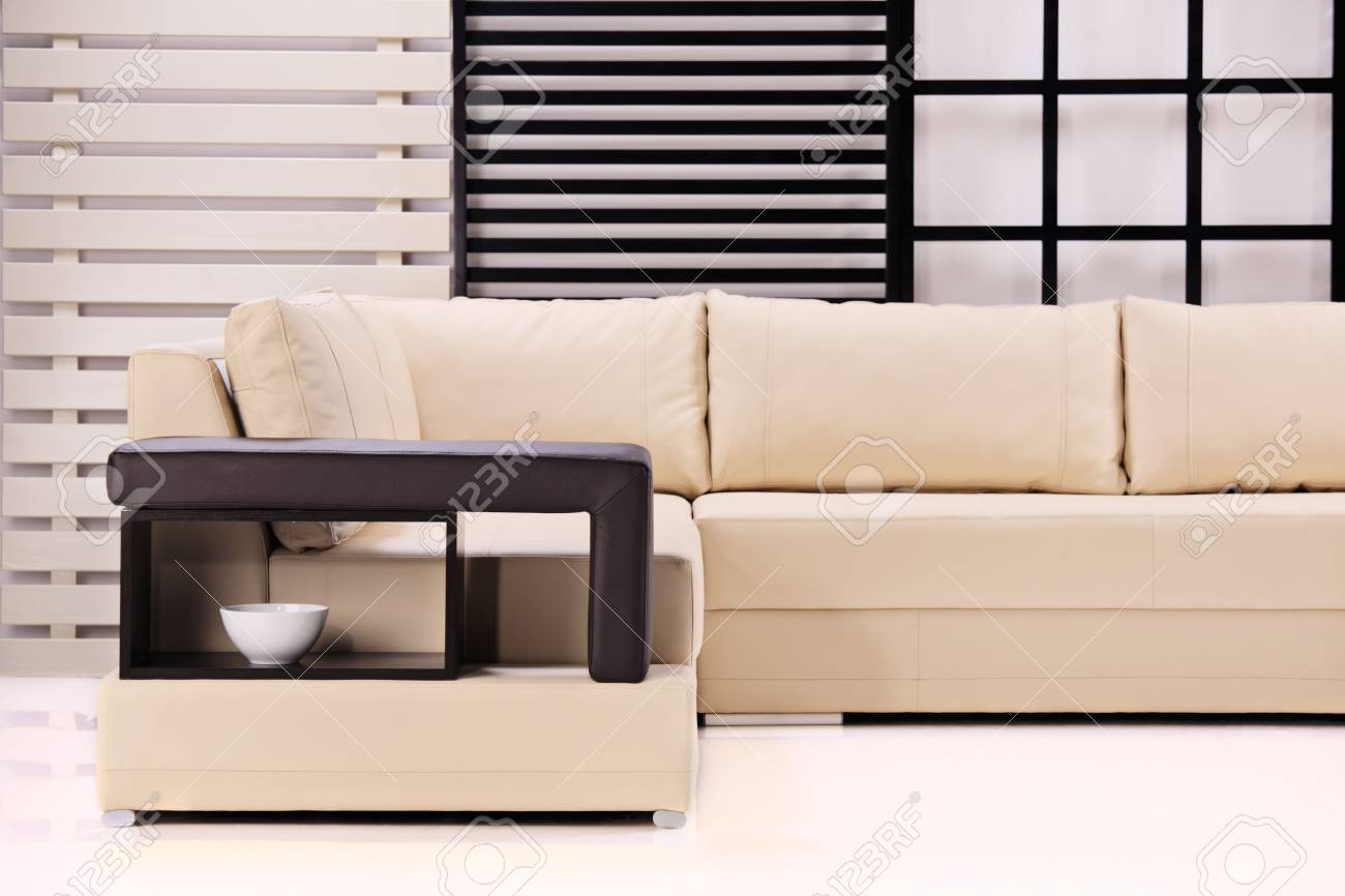 A view of a modern sofa Stock Photo - 3980287