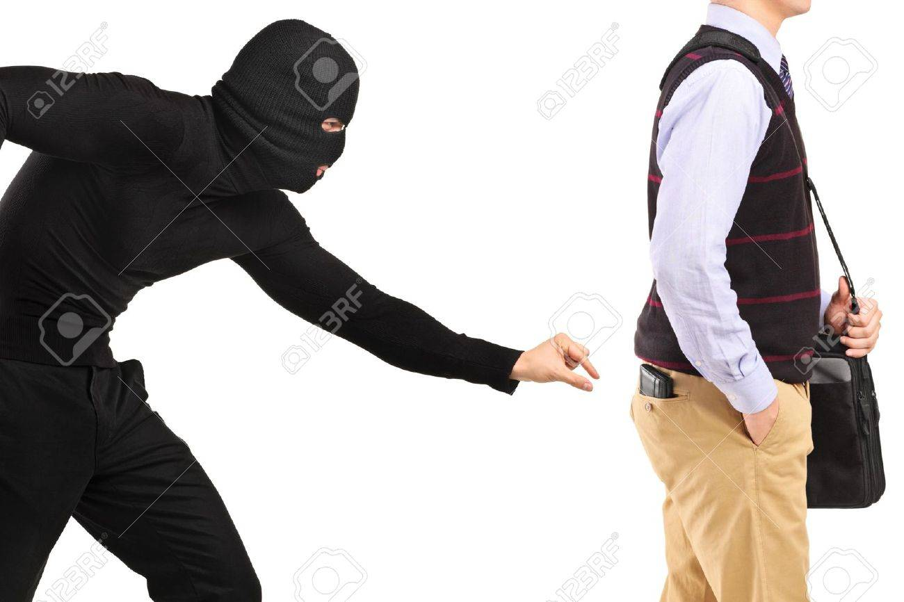 Pickpocket trying to steal a wallet Stock Photo - 14549662