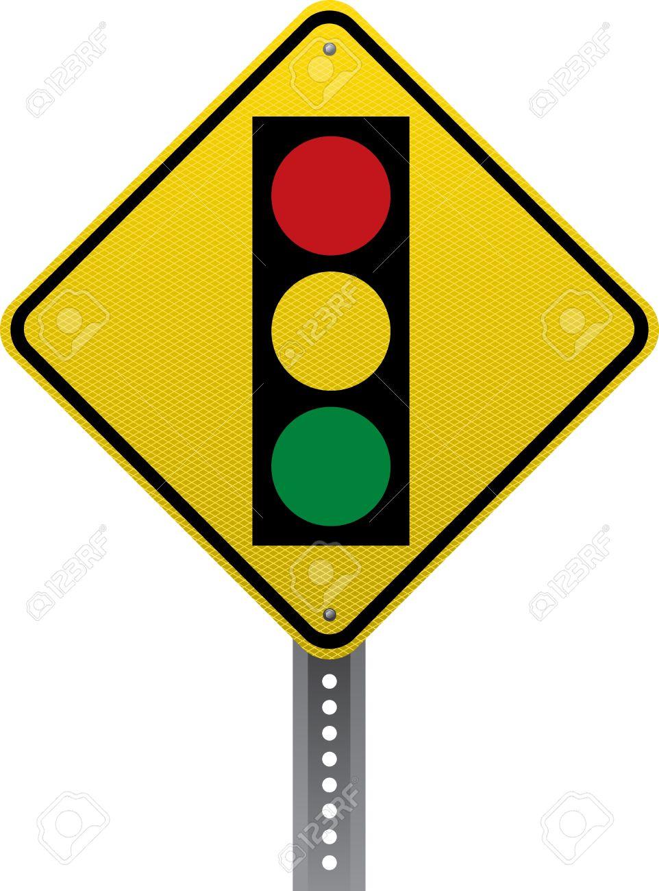 Traffic signal traffic warning sign diamond shaped traffic signs traffic signal traffic warning sign diamond shaped traffic signs warn drivers of upcoming road biocorpaavc Choice Image
