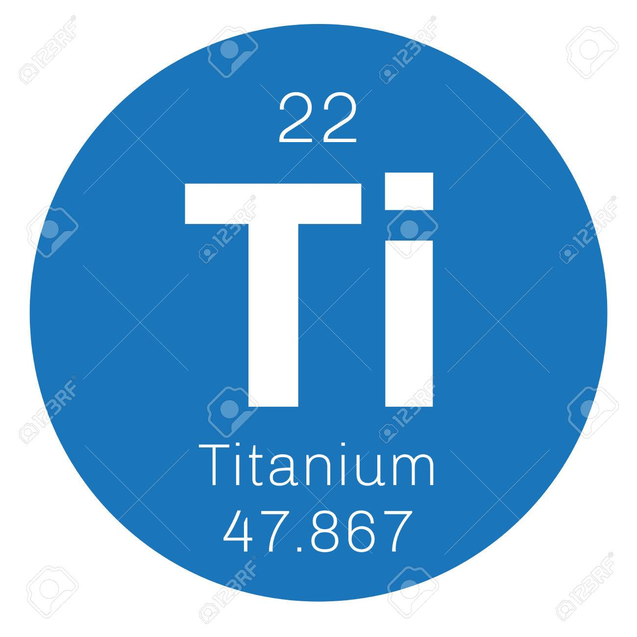 Titanium chemical element transition metal of high strength titanium chemical element transition metal of high strength colored icon with atomic number and urtaz Choice Image