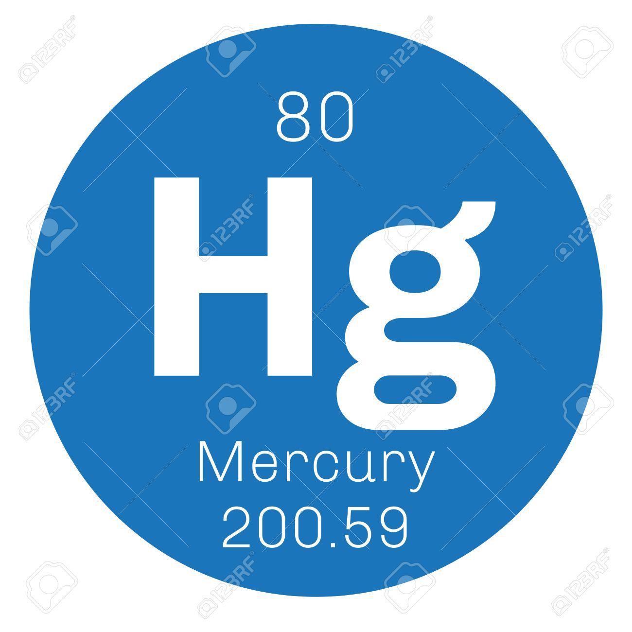 Mercurio en estado elemental comnmente conocido como el mercurio comnmente conocido como el mercurio icono de color con el nmero atmico y el peso atmico elemento qumico de la tabla peridica urtaz Gallery