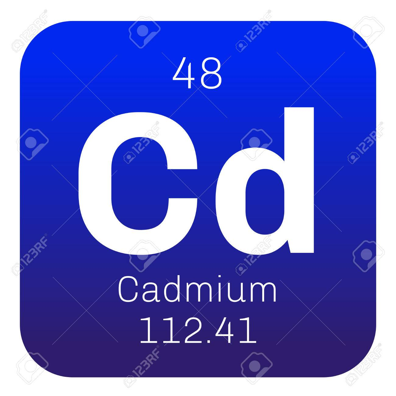 Cadmium chemical element transition metal colored icon with chemical element of periodic table cadmium chemical element transition metal colored icon with atomic number and atomic weight gamestrikefo Image collections
