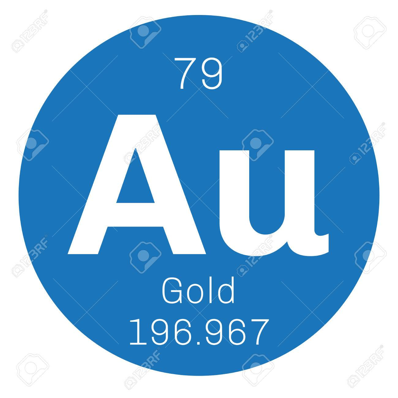 Gold chemical element one of the least reactive chemical elements gold chemical element one of the least reactive chemical elements colored icon with atomic biocorpaavc