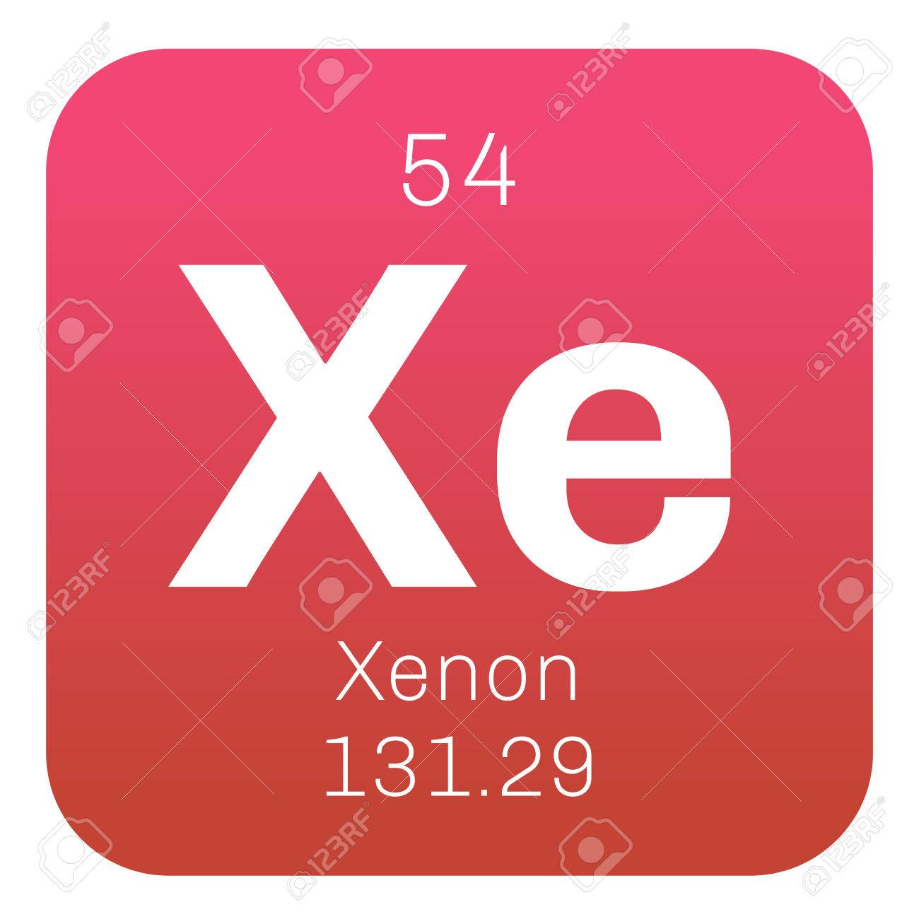 Xenon is a chemical element belongs to noble gases group of vector xenon is a chemical element belongs to noble gases group of the periodic table neon is a colorless odorless and inert gas urtaz Images