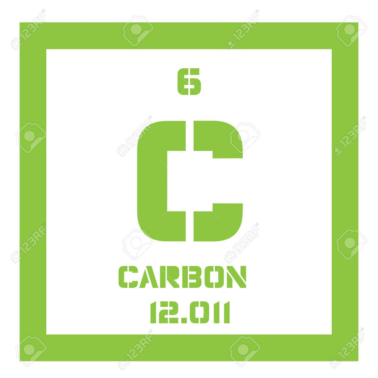 Carbon chemical element graphite and diamond colored icon with chemical element of periodic table carbon chemical element graphite and diamond colored icon with atomic number and atomic weight urtaz Images