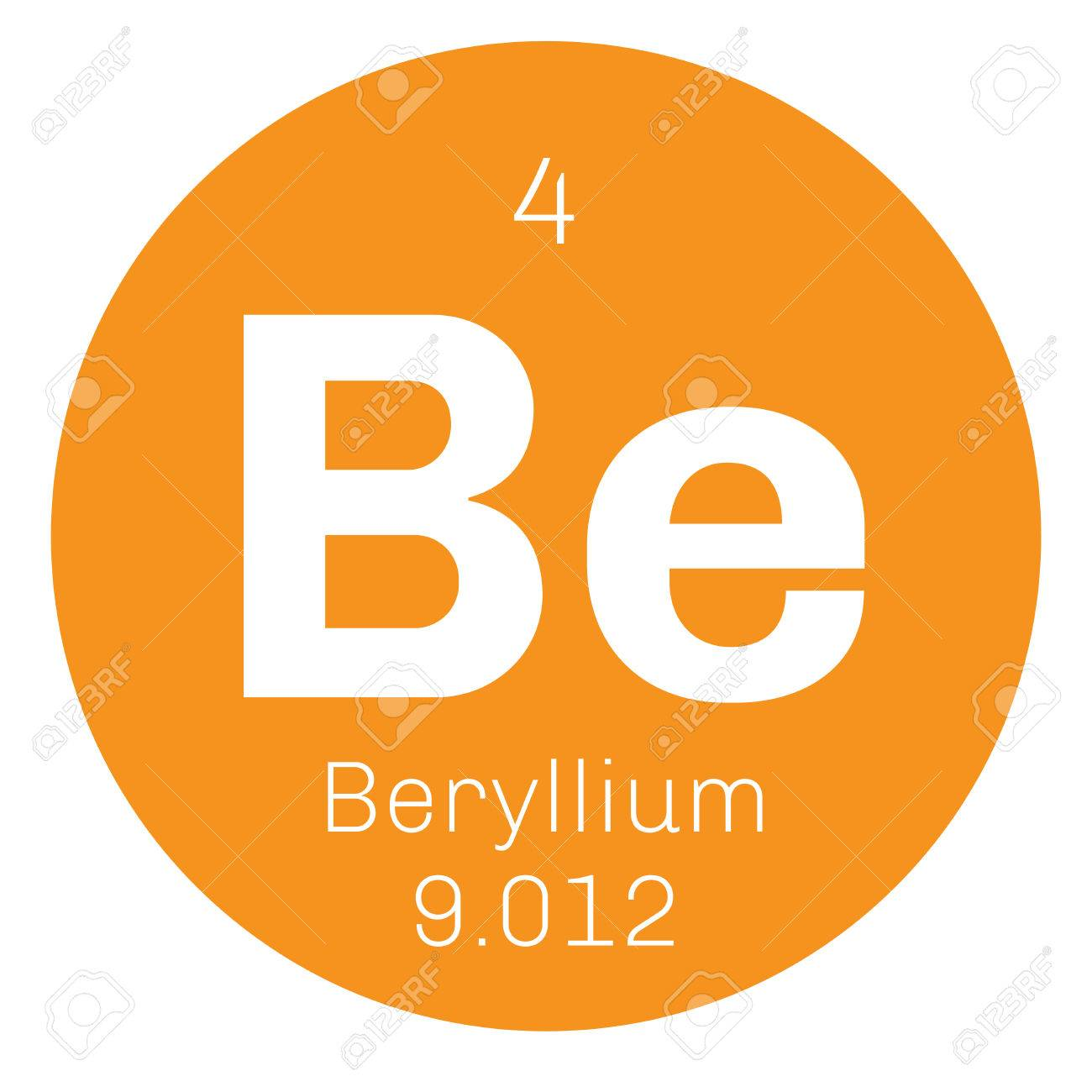 Beryllium chemical element a rare element colored icon with beryllium chemical element a rare element colored icon with atomic number and atomic weight buycottarizona Image collections