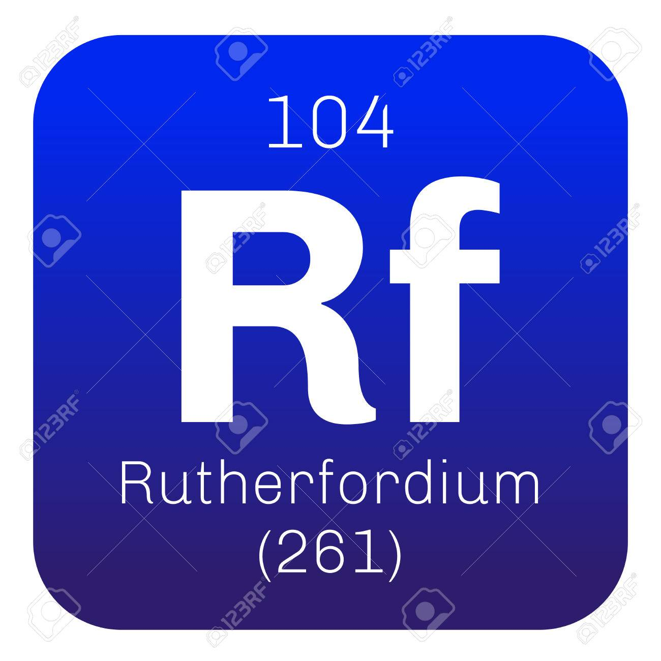 Rutherfordium chemical element radioactive synthetic element chemical element of periodic table rutherfordium chemical element radioactive synthetic element colored icon with atomic number and atomic weight urtaz Choice Image