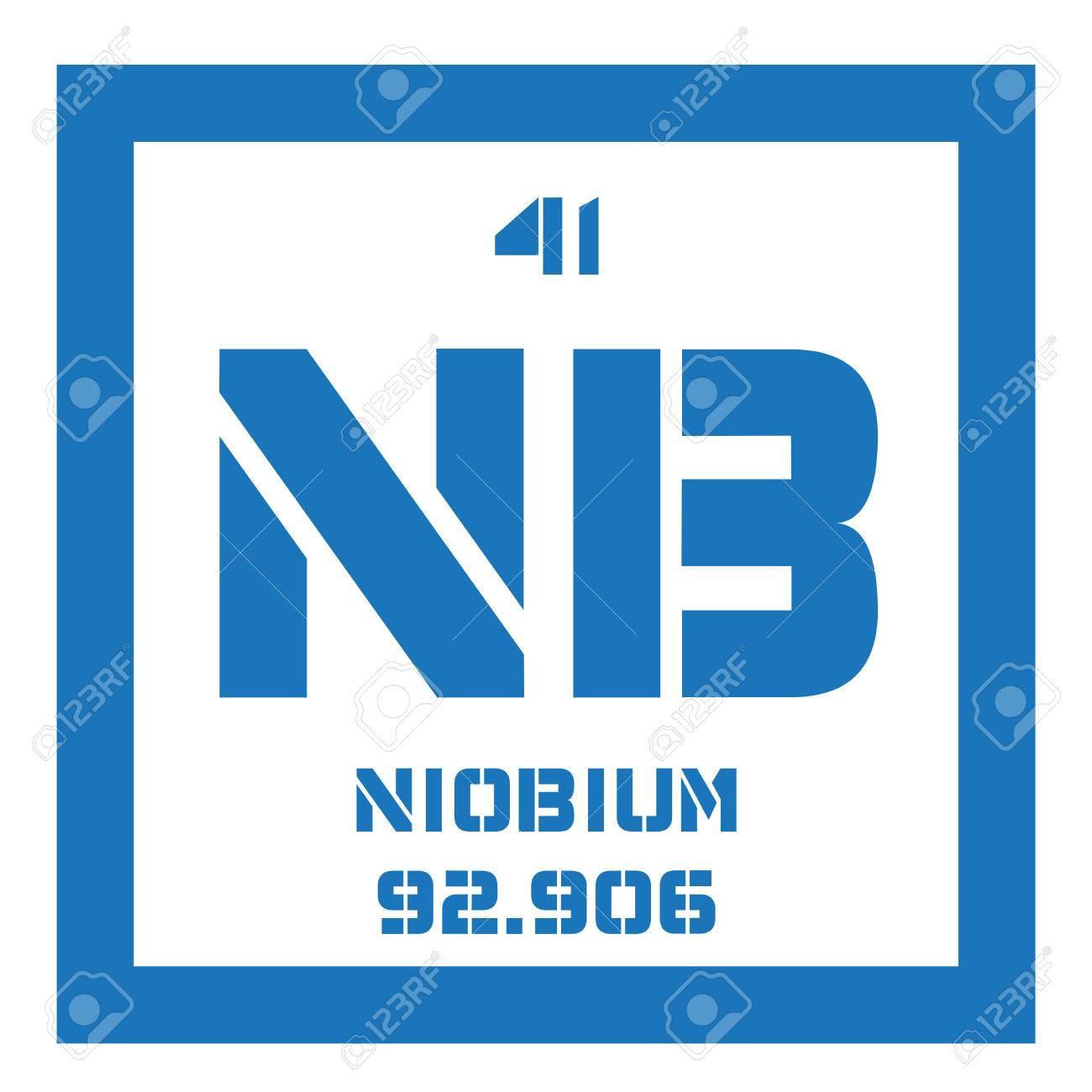 Niobium chemical element niobium is a transition metal colored niobium chemical element niobium is a transition metal colored icon with atomic number and biocorpaavc