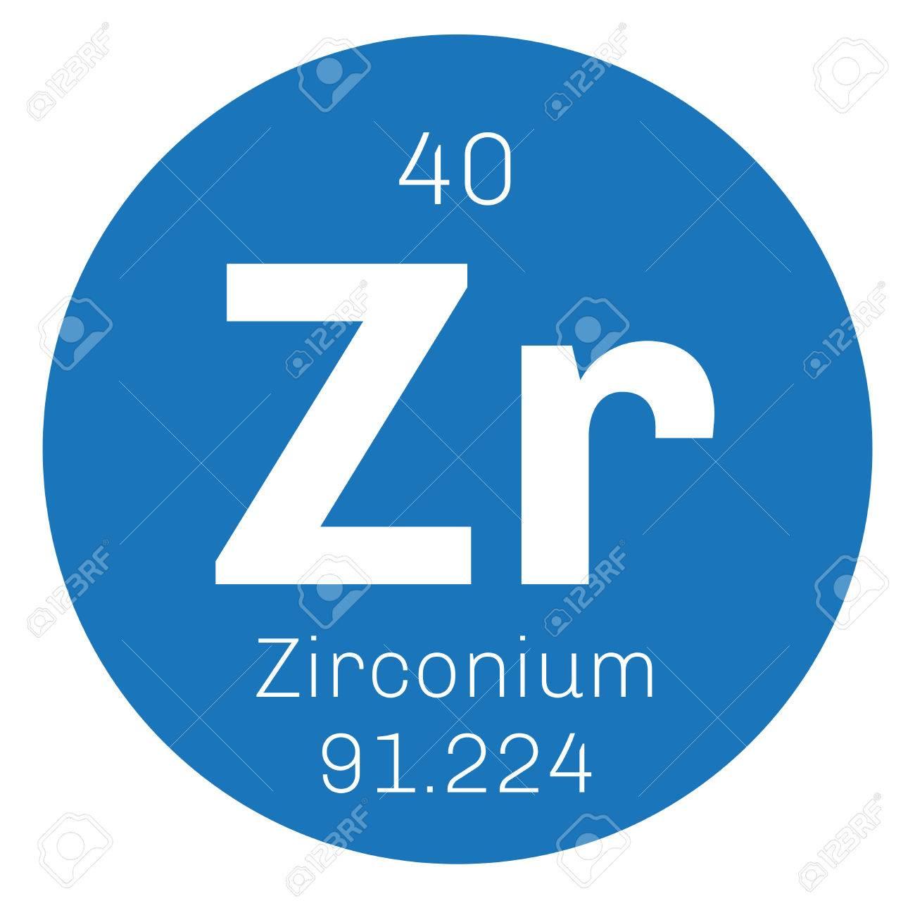 Zirconio elemento qumico el circonio es un metal de transicin el circonio es un metal de transicin icono de color con el nmero atmico y el peso atmico elemento qumico de la tabla peridica urtaz Choice Image