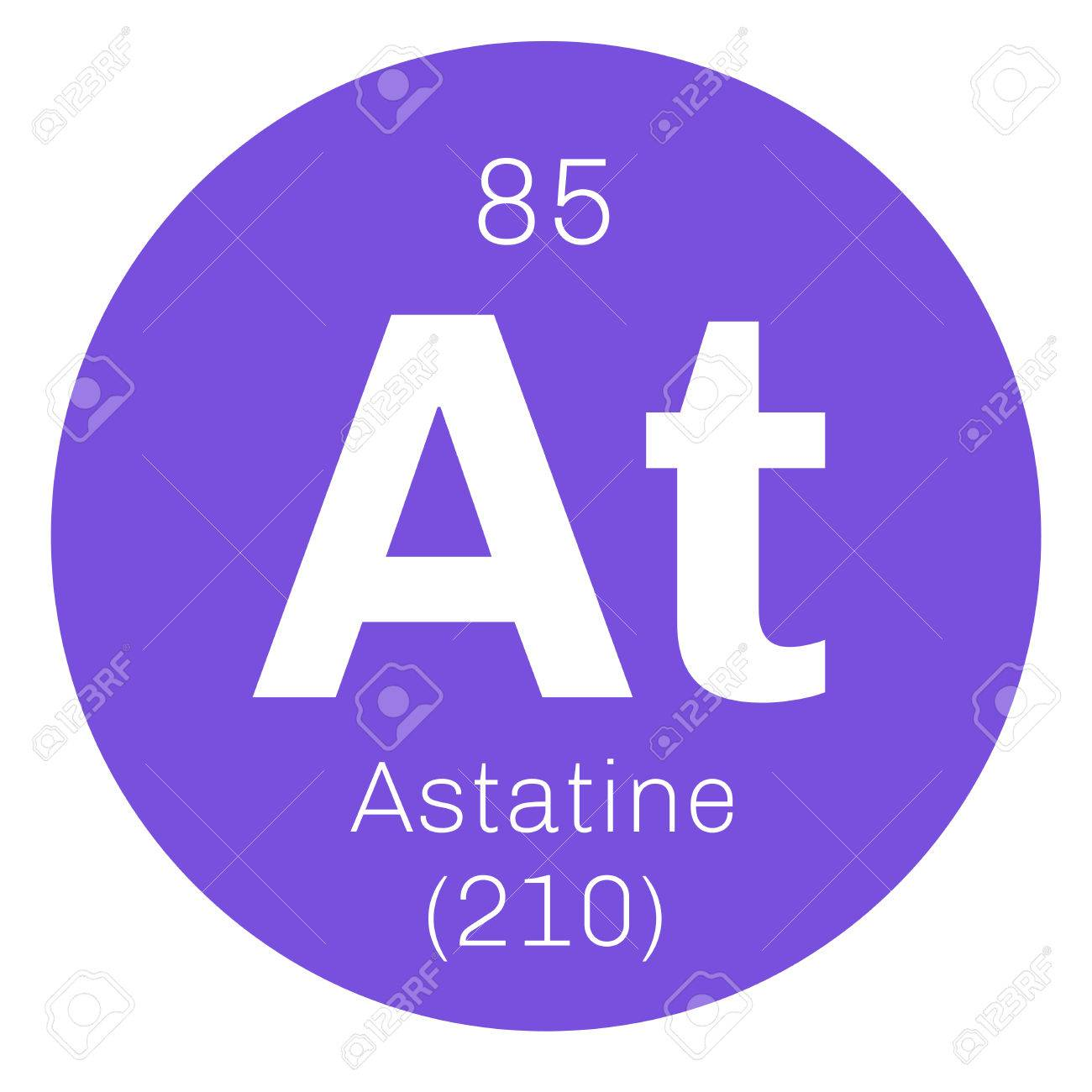Astatine chemical element radioactive chemical element colored chemical element of periodic table astatine chemical element radioactive chemical element colored icon with atomic number and atomic weight urtaz Choice Image