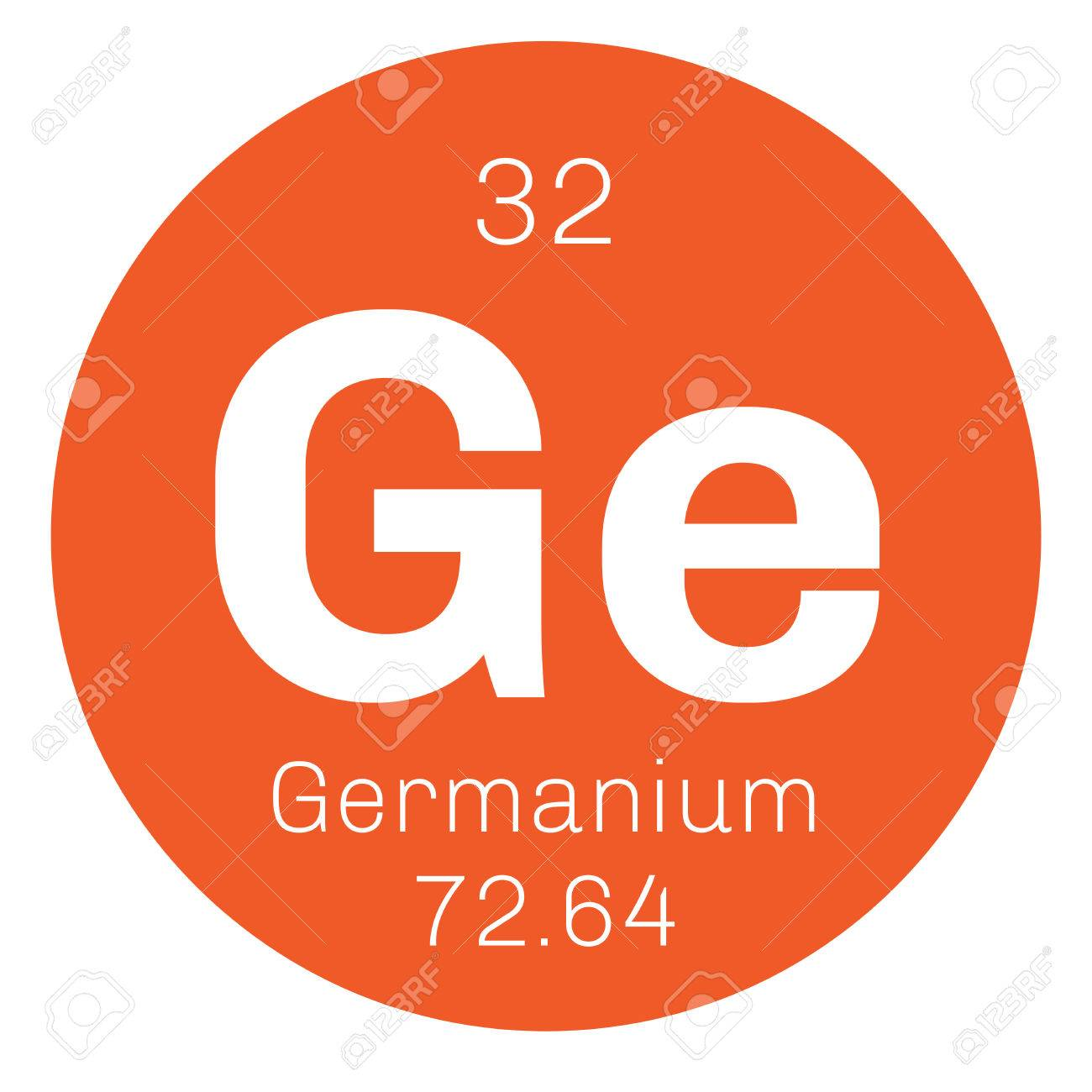 Germanium chemical element metalloid in carbon group a germanium chemical element metalloid in carbon group a semiconductor colored icon with atomic urtaz Image collections