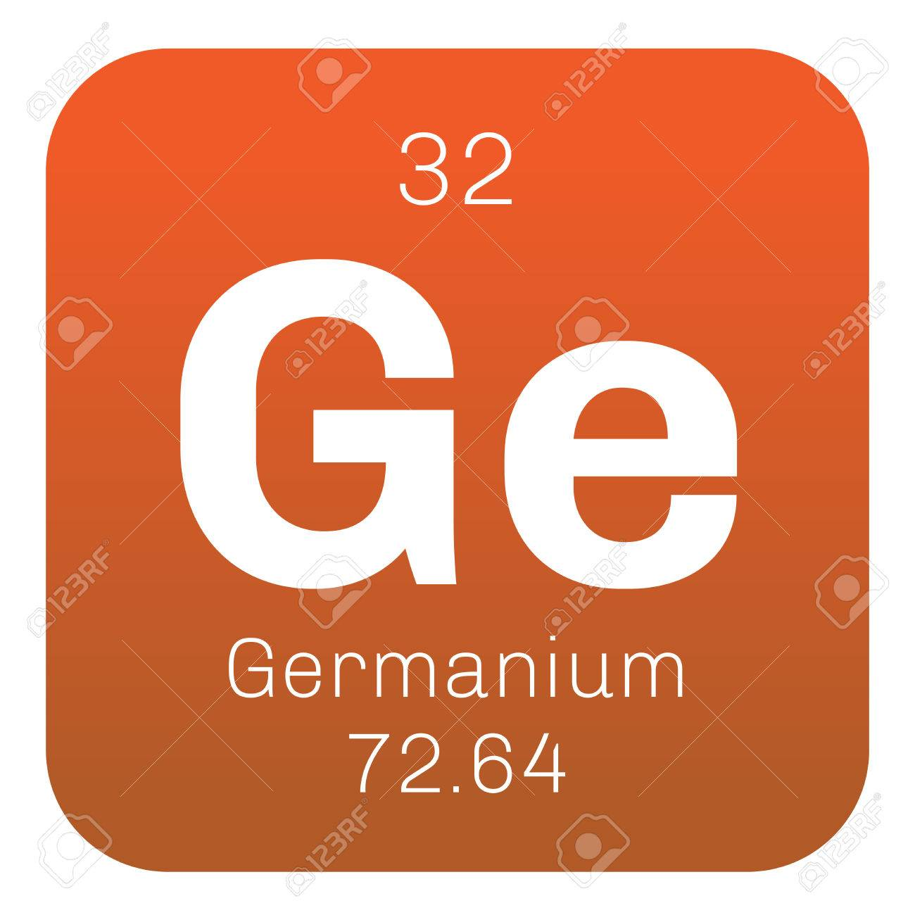 Germanium chemical element metalloid in carbon group a chemical element of periodic table germanium chemical element metalloid in carbon group a semiconductor colored icon with atomic gamestrikefo Images