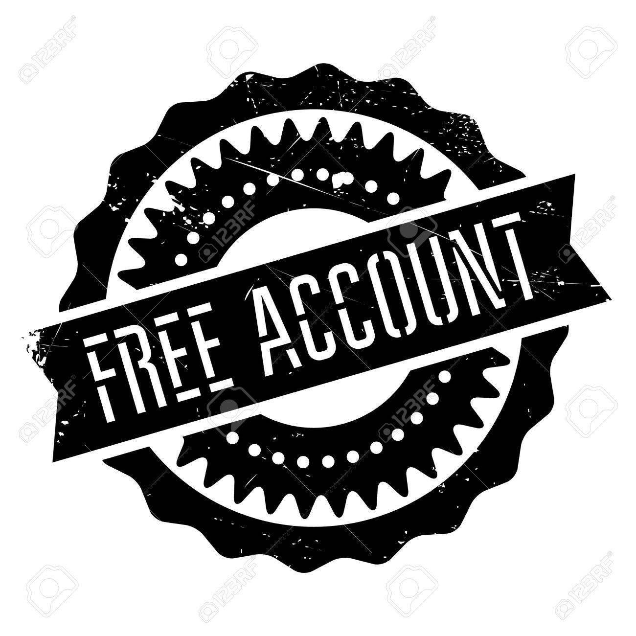 Free Account Stempel. Grunge-Design Mit Staub Kratzer. Die Effekte ...