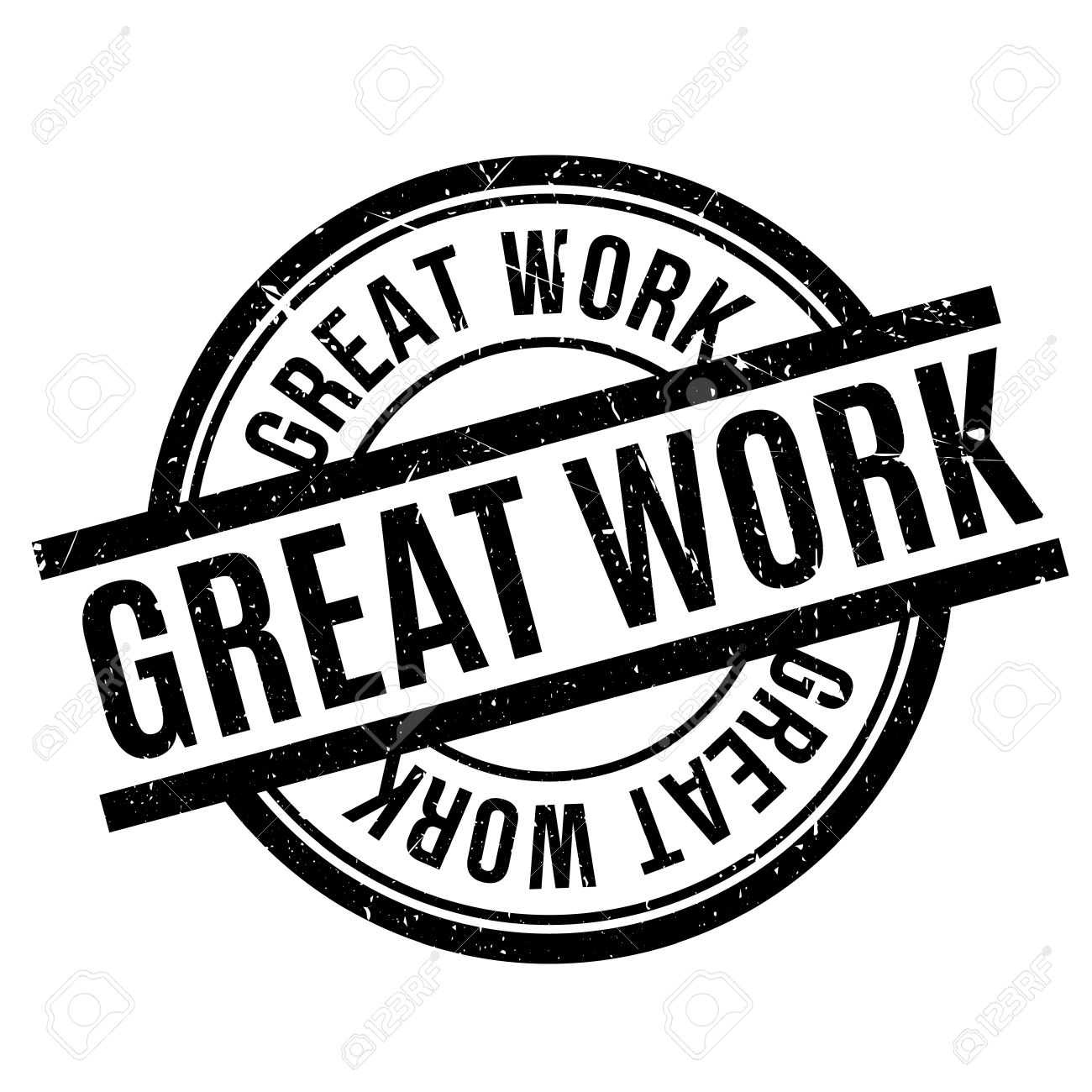 great work rubber stamp royalty free cliparts vectors and stock