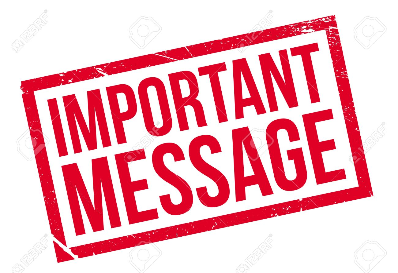 Important Message Rubber Stamp Royalty Free Cliparts, Vectors, And Stock Illustration. Image 68259384.