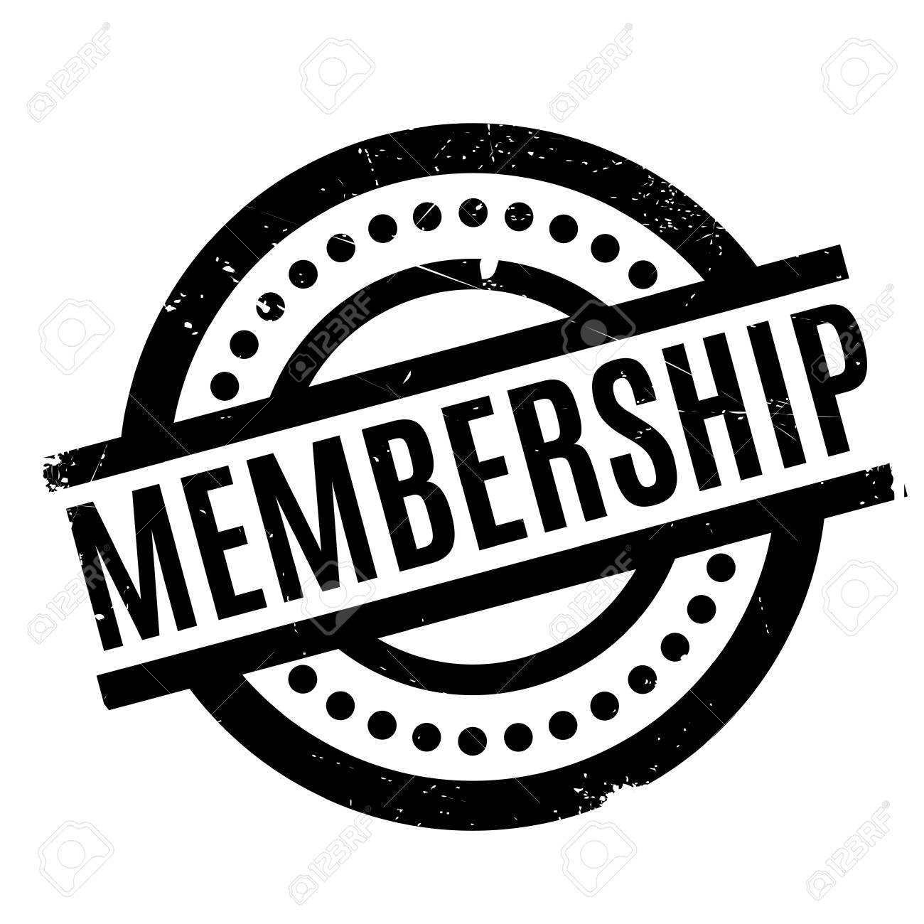 Membership rubber stamp - 68310634