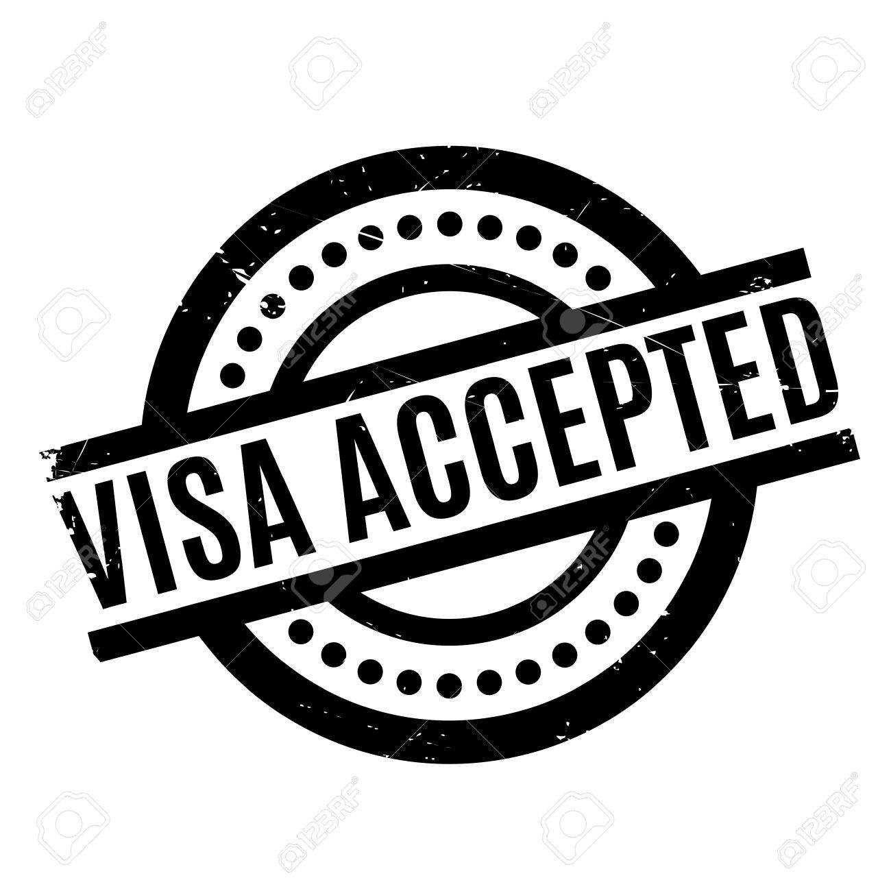Visa accepted rubber stamp grunge design with dust scratches visa accepted rubber stamp grunge design with dust scratches effects can be easily removed biocorpaavc Choice Image