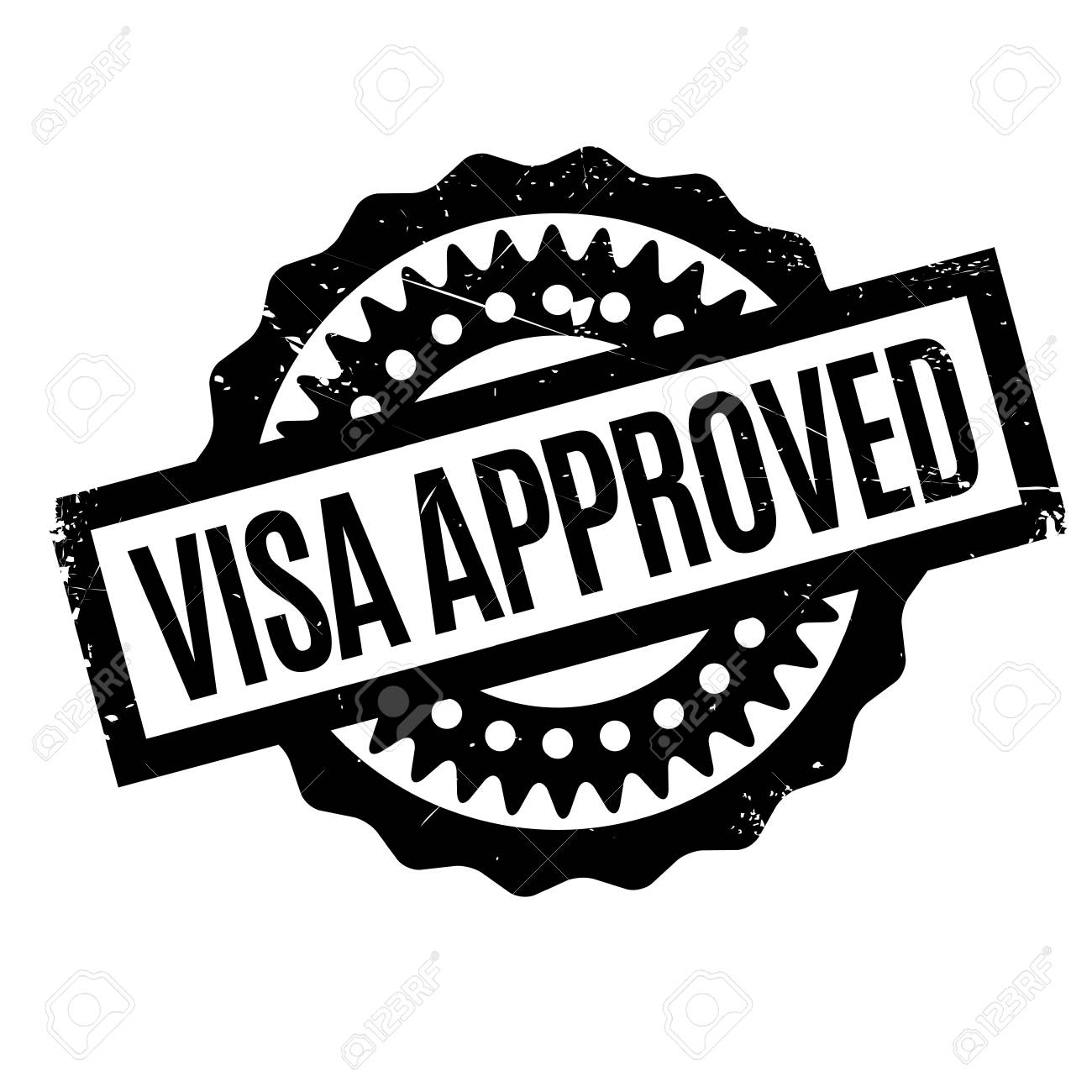 Visa approved rubber stamp grunge design with dust scratches visa approved rubber stamp grunge design with dust scratches effects can be easily removed biocorpaavc Choice Image