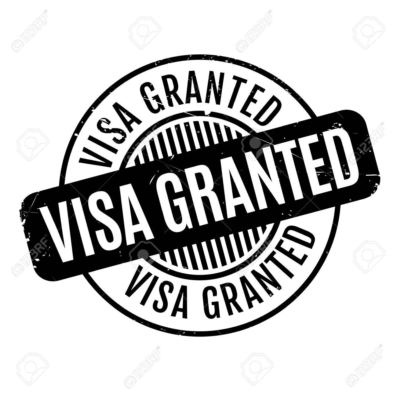 Visa granted rubber stamp grunge design with dust scratches visa granted rubber stamp grunge design with dust scratches effects can be easily removed biocorpaavc Choice Image