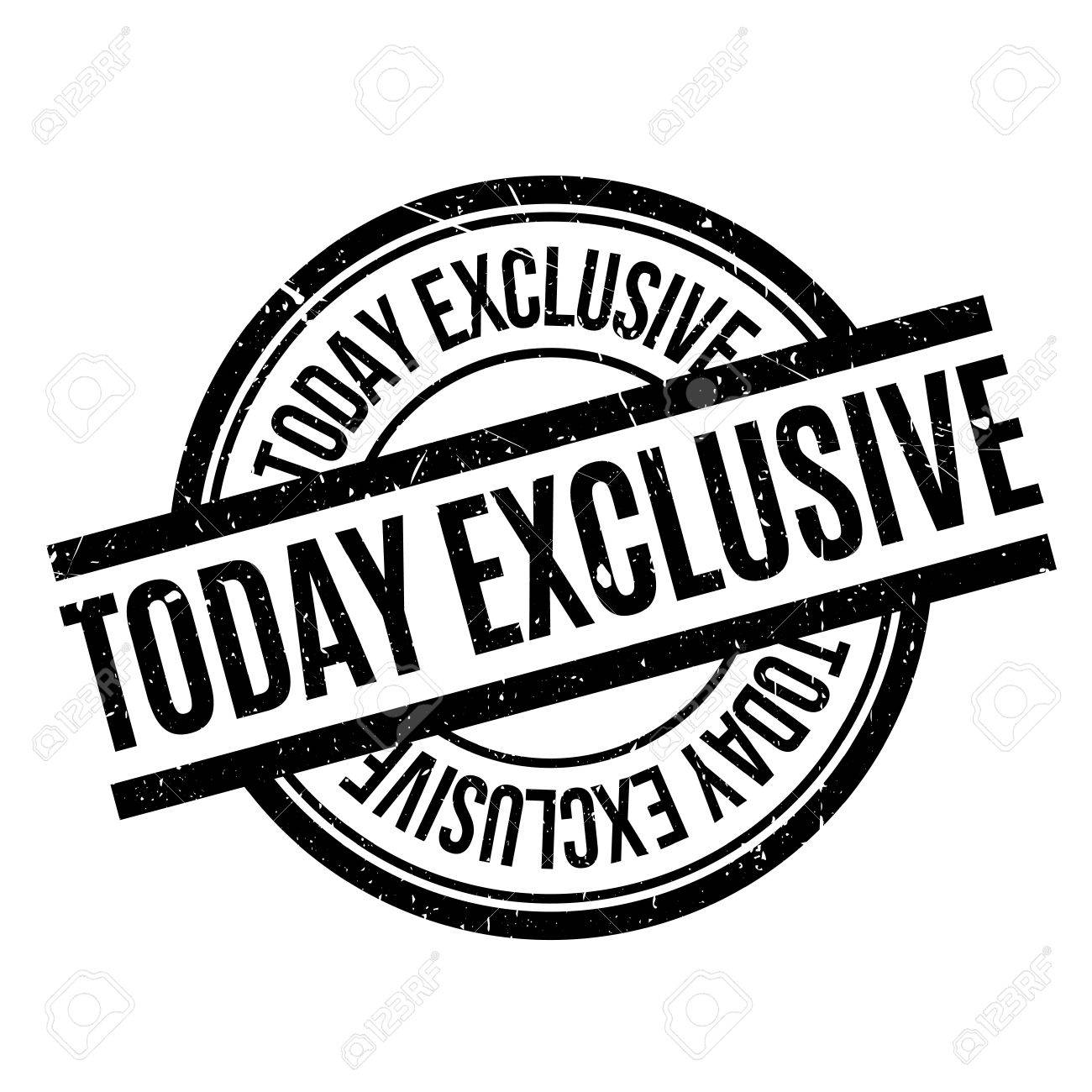 Today Exclusive rubber stamp. Grunge design with dust scratches. Effects can be easily removed for a clean, crisp look. Color is easily changed. - 73420416