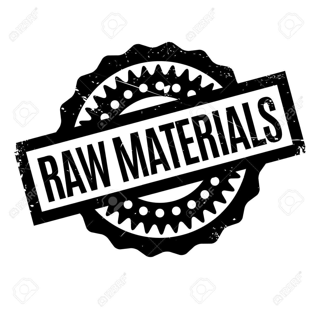Raw Materials Rubber Stamp Grunge Design With Dust Scratches Effects Can Be Easily Removed