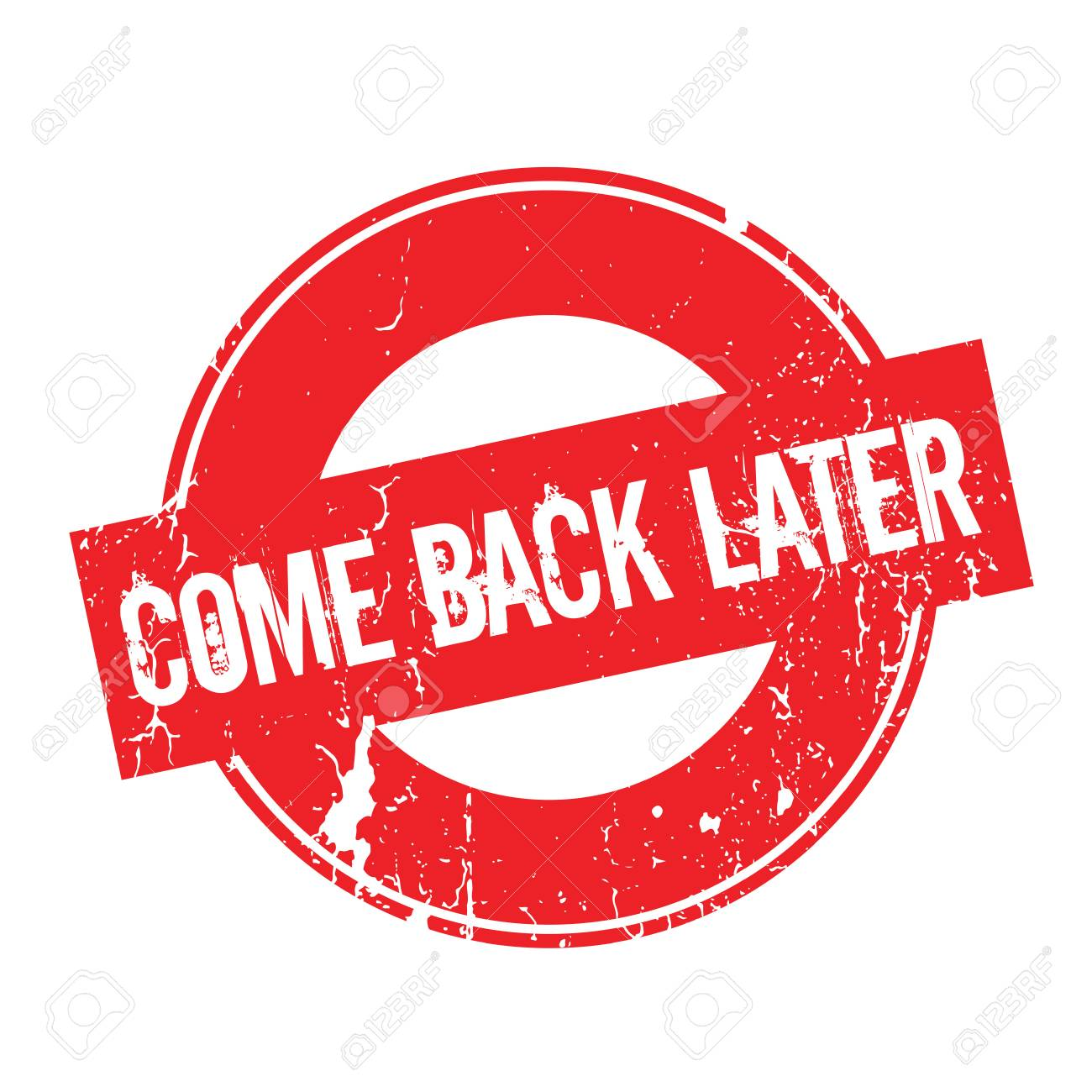 Resultado de imagen para Come back later