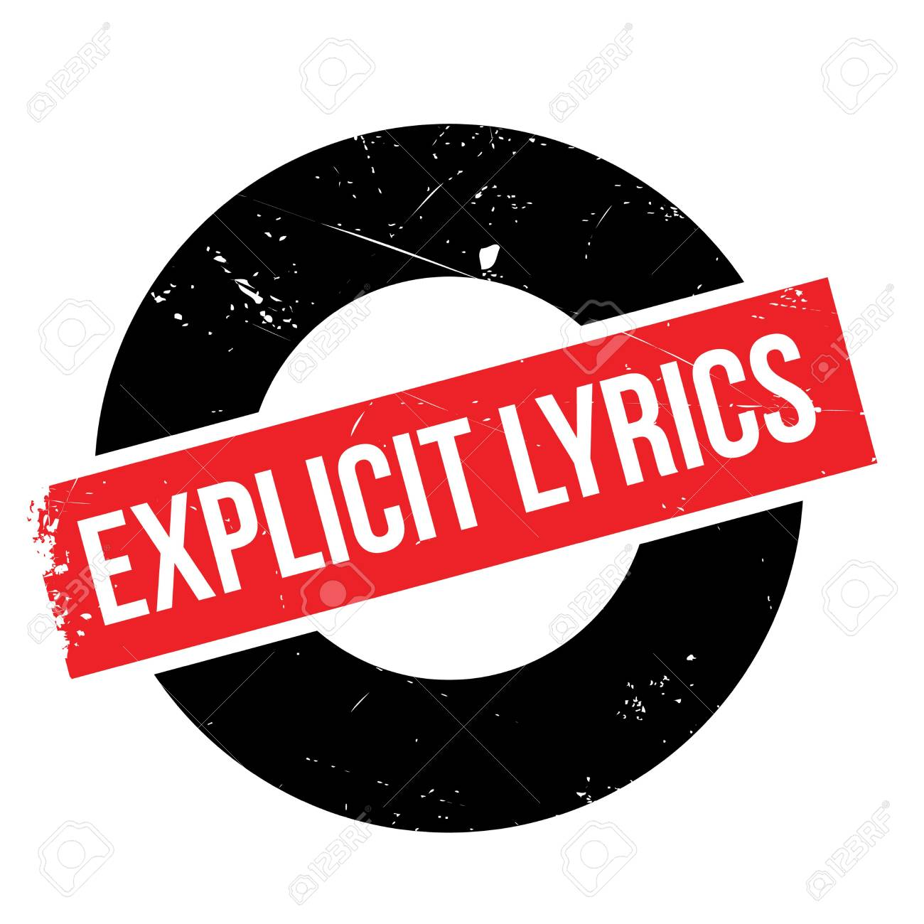 explicit lyrics label