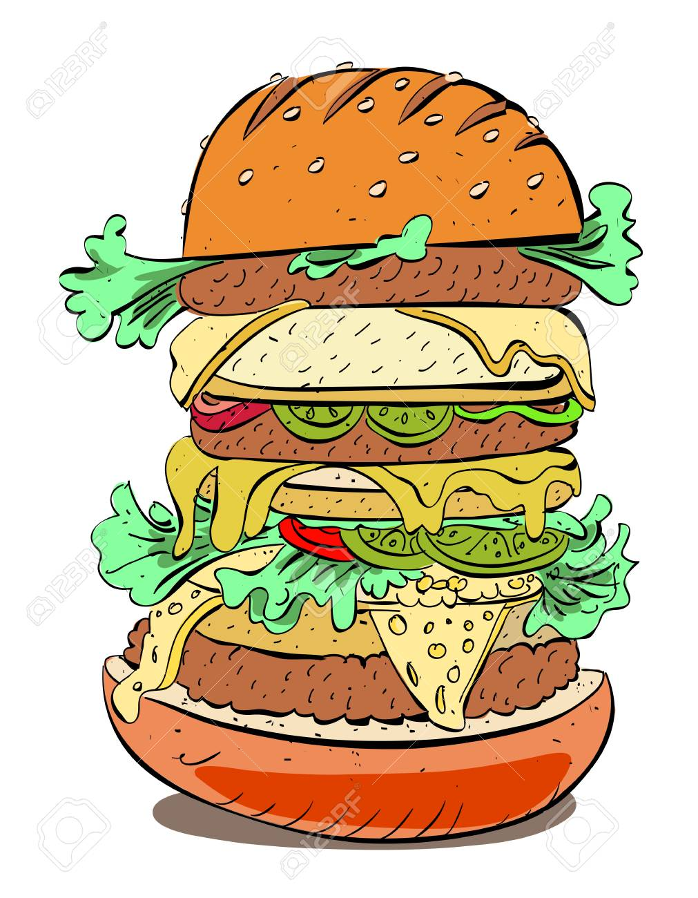 cartoon image of huge sandwich royalty free cliparts vectors and stock illustration image 76258828 cartoon image of huge sandwich